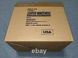 LOT F-zero Brand NEW Sealed Complete Super Nintendo SNES Nr-Mint! WATA VGA
