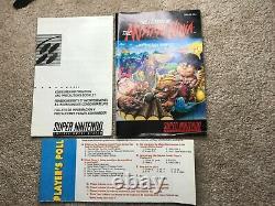 Legend of Mystical Ninja (Super Nintendo SNES) Complete CIB with Strategy Book