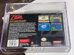 Legend of Zelda A Link To The Past VGA 85 Factory Sealed Super Nintendo SNES