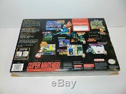 Legend of Zelda Mini Super Nintendo SNES System Console Complete in Box CIB MINT