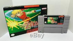 Legend of Zelda Parallel Worlds SNES Super Nintendo Sealed in Box NTSC