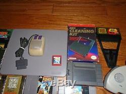 Lot of 25 NES SNES N64 games Mario Zelda Turtles cases manuals Nintendo Super 64