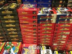 Lote X 323 Juegos Snes Pal Nuevos Super Nintendo Terranigma Whizz