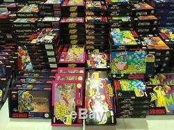 Lote X 3898 Juegos Snes Pal Nuevos Super Nintendo Liquidacion Total