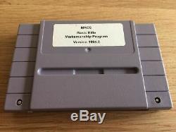 MACS Basic Rifle Multipurpose Arcade Combat Simulator SNES Rare Super Nintendo
