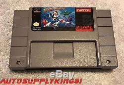 MEGA MAN X (Super Nintendo SNES, 1993) Game Complete CIB with Custom Box VERY MINT