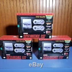 MODDED SNES Classic Mini 150+ Super Nintendo, NES, GBA, & Sega Genesis Games