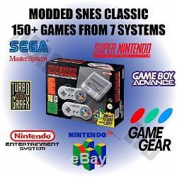 Modded Snes Classic Mini Eu 150+ Super Nintendo, Snes, Gba