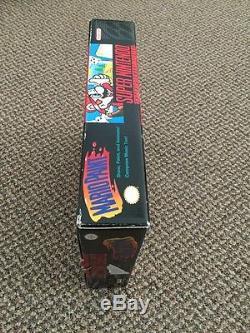 Mario Paint (Super Nintendo SNES, 1992) MINT CONDITION vtg Video Games Boxed Nes