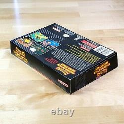 Mario RPG Complete CIB Excellent condition box & cartridge SNES Super Nintendo