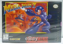 Mega Man 7 Snes Super Nintendo Ntsc USA Version Boxed Rare