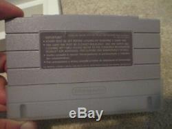 Mega Man 7 (Super Nintendo SNES) Complete CIB Nice
