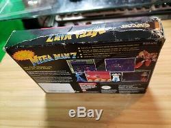 Mega Man 7 VII (Super Nintendo 1995) SNES Cart & Box. Rare game! Authentic