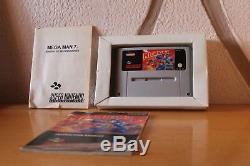 Mega Man 7 snes Versión Españolizada Super Nintendo Completo