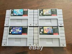 Mega Man Collection X X2 X3 7 Super Nintendo Snes Loose (game only) Rare