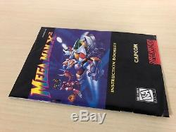 Mega Man X2 Complete Super Nintendo CIB SNES Original Game MegaMan 2