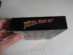 Mega Man X2 SNES Super Nintendo PAL EUR OVP CIB Megaman 100% original