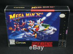 Mega Man X2 Super Nintendo SNES CIB Complete 1st Print Japan VG+/EX Overall