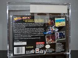 Mega Man X2 Vga 80+ Super Nintendo Snes Sealed New Rare