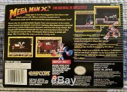 Mega Man X3 SNES Super Nintendo CIB Excellent Condition