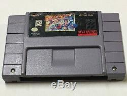 Mega Man X3 (Super Nintendo, 1997 SNES) Tested 100% Authentic black marker