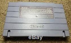 Mega Man X3 (Super Nintendo Entertainment System, 1997) Authentic RARE SNES