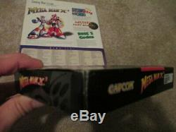 Mega Man X3 (Super Nintendo SNES) Complete CIB with Magazine Walkthrough + Ad