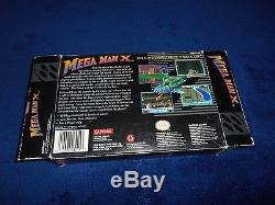 Mega Man X Complete Super Nintendo SNES CIB Game