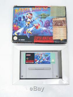 Mega Man X Nintendo Super Nintendo SNES Spiel in OVP PAL