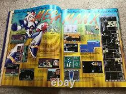 Mega Man X (Super Nintendo SNES) Complete CIB with Magazine