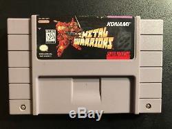 Metal Warriors (Super Nintendo Entertainment System, 1995)
