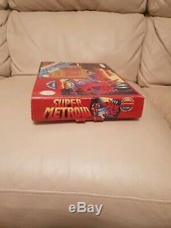 Metroid Zelda Snes Super Nintendo Big Box Rare