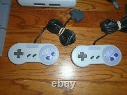 Mini Jr. Super Nintendo video game system/console, 2 controllers, 8 Games SNES
