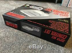 Mint Condition Super Nintendo SNES Super Nes Console Brand New Pal Unopened
