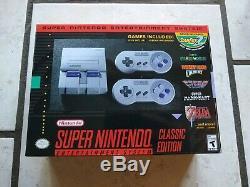 Modded Super Nintendo SNES Classic Mini Console 290+ Games Plus Extras