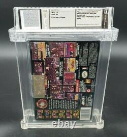 NBA Jam Tournament Edition (Super Nintendo, 1995) SNES Wata Graded 6.0 B+ Sealed