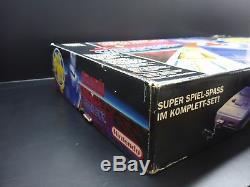 NEU OVP Super NINTENDO Entertainment System PAL SNES UNBESPIELT Rarität NEU