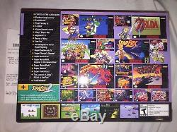 NEW LIMITED RARE SNES Classic Mini Super Nintendo Entertainment System