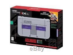 NEW Nintendo 3DS XL Super NES Edition with Super Mario Kart Download