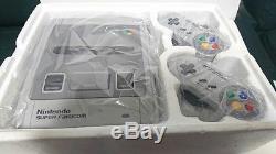 NEW Nintendo Super Famicom Console SNES System Japan RARE COLLECTORS ITEM EMS