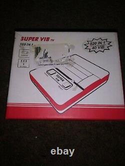 NEW SUPER VIB TV Vibration SNES Famicom Nintendo Retro Mini Video Games Console