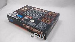 NOSFERATU (Super Nintendo Entertainment System) RARE BOX! Authentic SNES