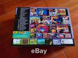 New 100% Authentic Super Nintendo SNES Classic Edition Mini 300 Games