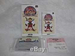 New! GUNMAN'S PROOF Ganpuru Nintendo Super Famicom SNES Japan Video Games