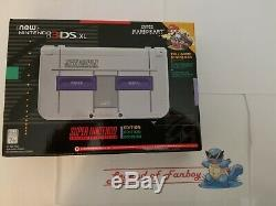 New New Nintendo 3DS XL SNES Super Nintendo Edition with Super Mario Kart