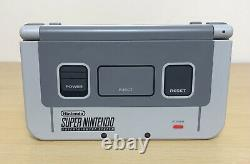 New Nintendo 3DS XL SNES Super Nintendo Edition Grey Console Fully Tested