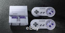 New SNES Super Nintendo Entertainment System Classic Mini Retro Console US ver