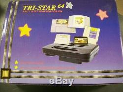 New SNES Super Nintendo NES N64 Tri Star Tristar system English version
