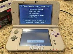 Nintendo 3DS XL SNES Edition Game System with Super Mario Kart Pokemon Ultramoon