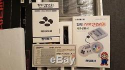 Nintendo Hyundai Super Comboy (Korean SNES/Super Nintendo) RARE FACTORY MISPRINT